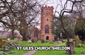 St Giles Church, Sheldon